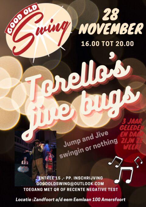 Good Old Swing x Torello's Jive Bugs